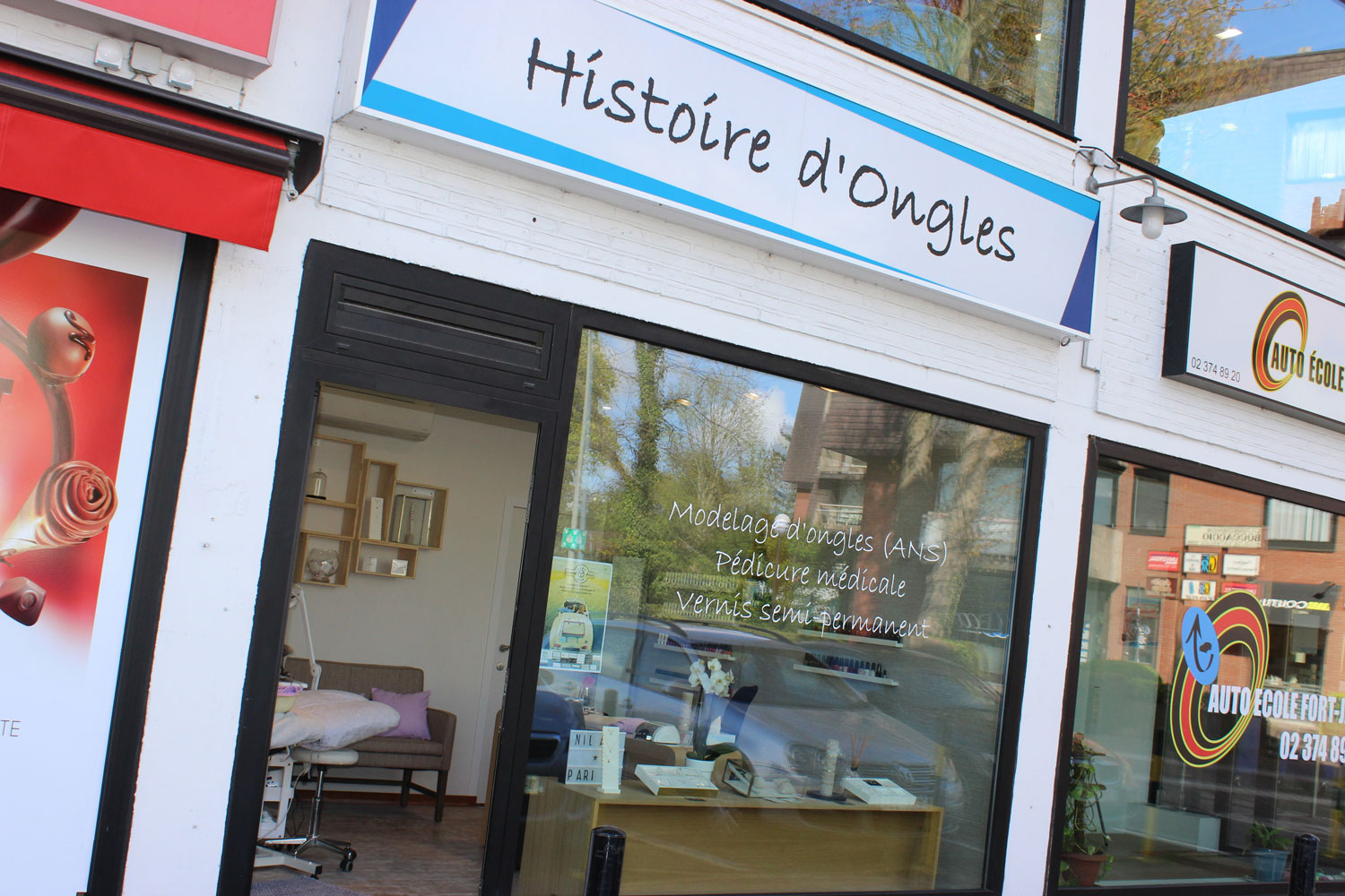 Histoire d'Ongles | Uccle - Fort Jaco